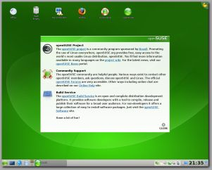 KDE on openSUSE 11.011.0