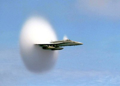 Me Breaking the Sound Barrier getting away from MS