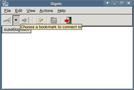 Connect via Bookmarks