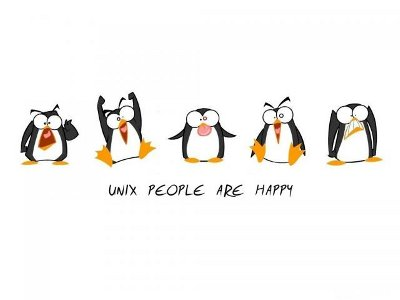 Unix People are Happy